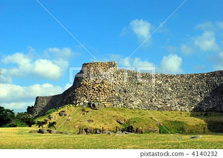 nakijin castle ruins, motobu peninsula, motobu-hanto 4140232