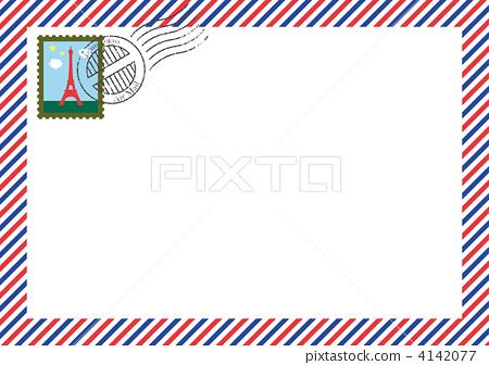 航空郵件 4142077