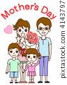 母親節的插圖 4143797