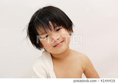 아이, 어린이, 알몸 4144419
