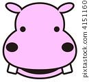 vector, vectors, hippo 4151160