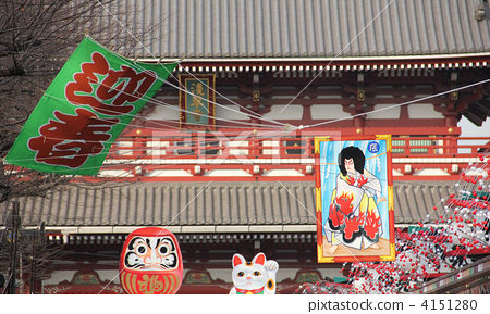 beckoning cat, buddhist doll, shrines and temples 4151280