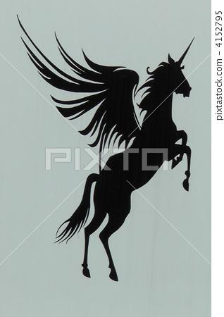 飛馬 跳躍 illustration 4152795