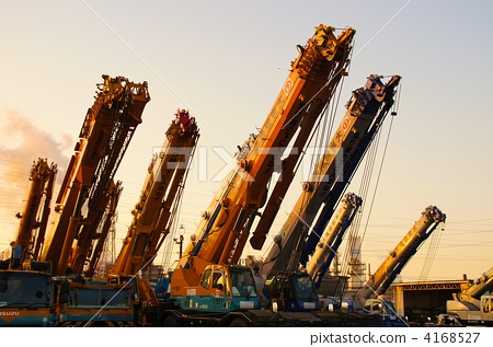heavy machinery, crane, cranes 4168527