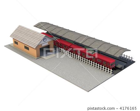 Station building building 4176165
