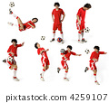 Boy with soccer ball, Footballer 4259107
