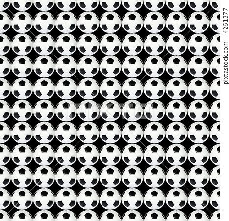 black and white soccer ball 4261377