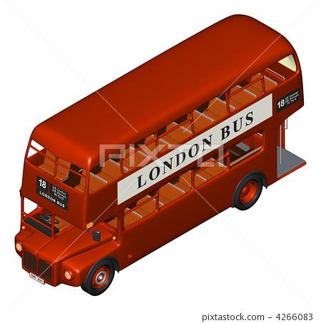런던 버스 (사시 관점 · 좌전) 4266083