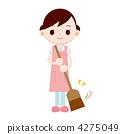 清洁与扫帚的妇女 4275049