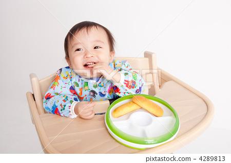 Practice eating baby food grab 4289813