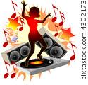 hot dancing girl 4302173