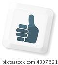 向量 向量圖 大拇指 4307621