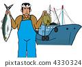 漁業 費希爾 漁夫 4330324