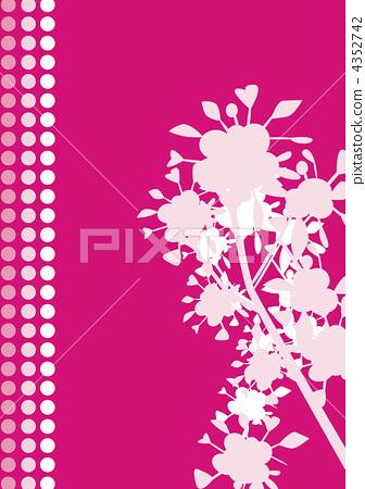 배경 꽃 핑크 4352742