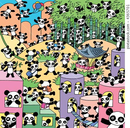 팬더, 판다, 무리 4365701