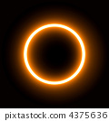 annular eclipse, annular solar eclipse, computer graphic 4375636