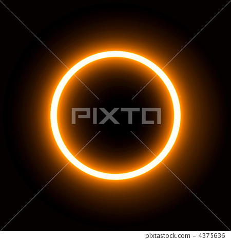 Ultra high resolution real CG that can be used from solar eclipse live action 4375636