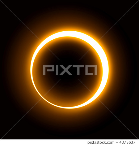 Ultra high resolution real CG that can be used from solar eclipse live action 4375637