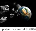 陨石 星球 行星 4389804