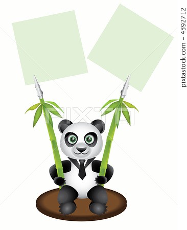 pegs paper in the form of pandas 4392712