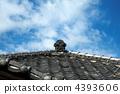 瓦屋頂 4393606