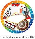 赌场的标志 4395307