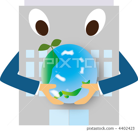 친환경적인 회사 4402423
