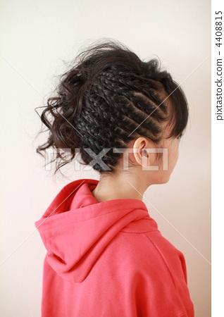舞台髮型 4408815