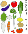 Let's eat vegetables firmly 4425899