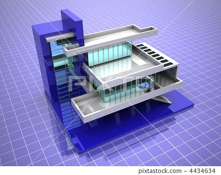 Model of house 4434634