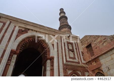 델리의 쿠트 브 미 나르 (세계 유산) 4462917