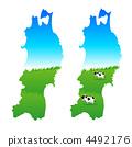 동북, 도호쿠, 일러스트 4492176