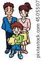 家庭3人 4505507