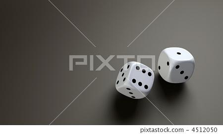 white dice wide 4512050