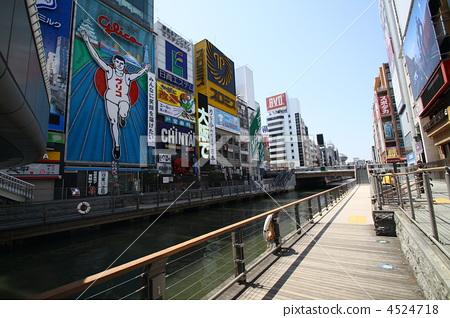 Osaka Dotonbori Tourist Attraction 4524718