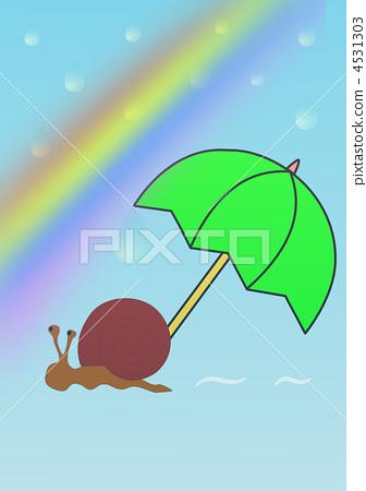 雨和蝸牛,有時是彩虹 4531303