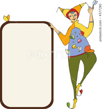 Clown Signboard 4577280