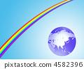 Rainbow and Earth 4582396