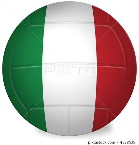 Stock Illustration: volley ball, balls, ball