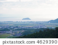 Look at Takeyoshima from Odani Castle Ruins 4629390