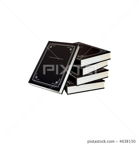 黑色日記插圖 4638150