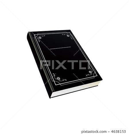 黑色日記插圖 4638153
