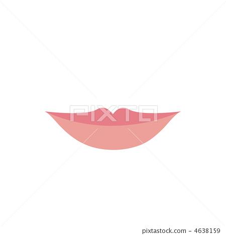 婦女的嘴唇圖 4638159