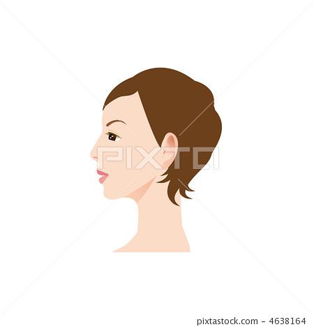 婦女的外形的例證 4638164