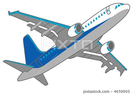 Airplane blue tilting composition 4659903