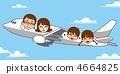เครื่องบินครอบครัวท่องเที่ยว Blue Sky 4664825