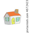 detached, house, residential 4672423