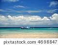 이시가키 섬, 底地 해변의 풍경 4698847