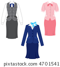 Uniform, occupation, clerical work 4701541