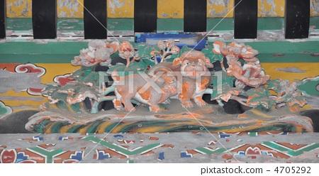 Shihiko Shrine Tachikawa Stream Chinese zodiac sculpture 4705292